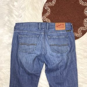 lucky Brand Classic Raider Crop Jeans Sz 6/28 B23